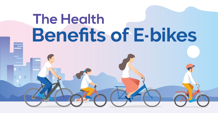 Surprising Health Benefits Of Electric Pedal Bikes